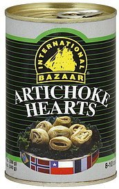 artichoke hearts International Bazaar Nutrition info