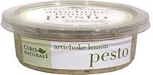 artichoke lemon pesto Cibo Naturals Nutrition info
