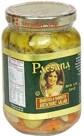 artichoke salad quartered & marinated Paesana Nutrition info