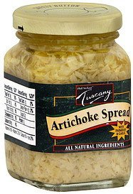 artichoke spread with parmesan & garlic Tuscany Nutrition info