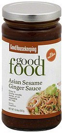 asian sesame ginger sauce Good Housekeeping Nutrition info