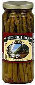 asparagus pickled Forest Floor Foods Nutrition info