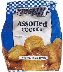 assorted cookies Checkers Cookies Nutrition info