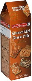 assorted mini cheese puffs Euro Patisserie Nutrition info