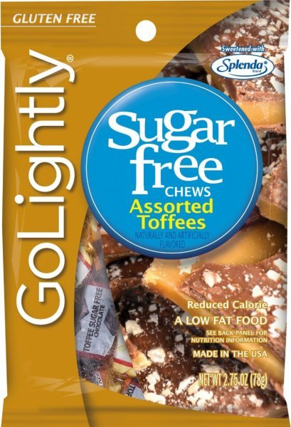 assorted toffees sugar free GoLightly Nutrition info