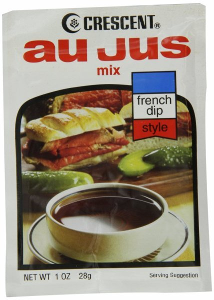 au jus mix french dip style Crescent Nutrition info