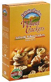 authentic italian crackers wheat crackers Fattorie & Pandea Nutrition info