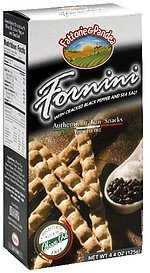 authentic italian snacks fornini Fattorie & Pandea Nutrition info