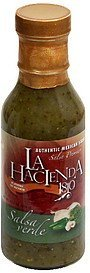 authentic mexican salsa salsa verde La Hacienda 1810 Nutrition info