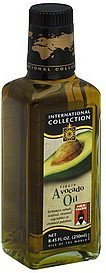 avocado oil virgin International Collection Nutrition info