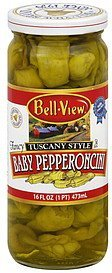 baby pepperoncini tuscany style Bell View Nutrition info