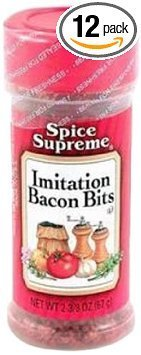 bacon bits imitation Spice Supreme Nutrition info