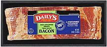 bacon deep applewood smoked thick sliced Dailys Nutrition info