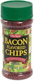 bacon flavored chips Durkee Nutrition info
