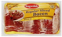 bacon regular sliced Sugardale Nutrition info