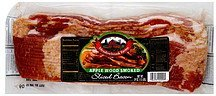 bacon sliced, apple wood smoked Meadowbrook Farms Nutrition info