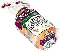 bagels plain, pre-sliced Rocky Mountain Bagels Nutrition info