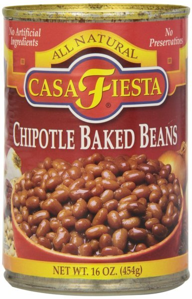 baked beans chipotle Casa Fiesta Nutrition info