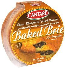 baked brie en croute cheese wrapped in french brioche Cantare Nutrition info