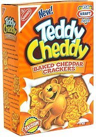 baked cheddar crackers Teddy Cheddy Nutrition info
