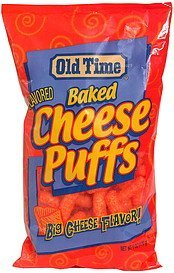 baked cheese puffs Old Time Nutrition info