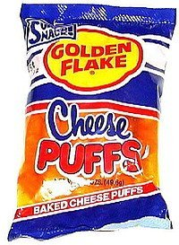 baked cheese puffs Golden Flake Nutrition info
