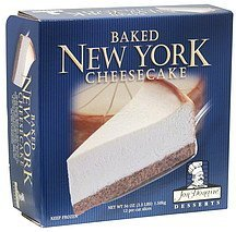 baked new york cheesecake Jon Donaire Desserts Nutrition info