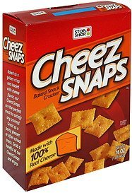 baked snack cracker Cheez Snaps Nutrition info