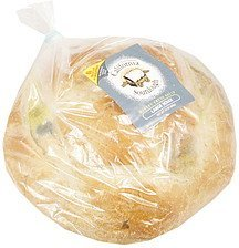 bakery fresh bread large boule California Goldminer Sourdough Nutrition info