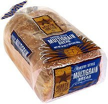 bakery style multigrain bread Hearth of Texas Nutrition info