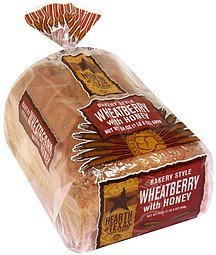 bakery style wheatberry bread with honey Hearth of Texas Nutrition info