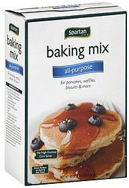 baking mix all-purpose Spartan Nutrition info
