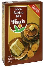 baking mix rice Fearn Nutrition info