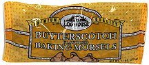 baking morsels butterscotch flavored Log House Nutrition info