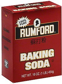 baking soda Rumford Nutrition info
