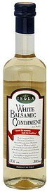 balsamic condiment white Isola Nutrition info
