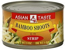 bamboo shoots strip Asian Taste Nutrition info