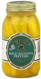 banana peppers mild Safies Nutrition info
