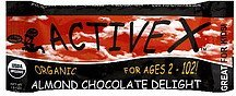 bar almond chocolate delight Active X Nutrition info