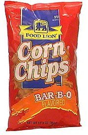 bar-b-q corn chips Food Lion Nutrition info