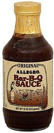 bar-b-q sauce original Allegro Nutrition info