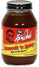 bar-b-q sauce, smooth 'n spicy Ken Davis Nutrition info