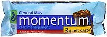 bar double chocolate Momentum Nutrition info