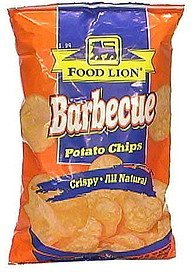 barbecue potato chips Food Lion Nutrition info