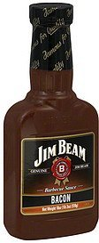 barbecue sauce bacon Jim Beam Nutrition info