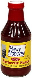 barbecue sauce hot Henry Roberts Nutrition info