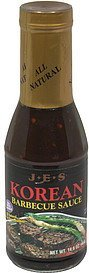 barbecue sauce korean J.E.S. Nutrition info