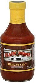 barbecue sauce original Claim Jumper Nutrition info
