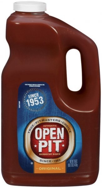 barbecue sauce original Open Pit Nutrition info