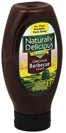 barbecue sauce original Naturally Delicious Nutrition info